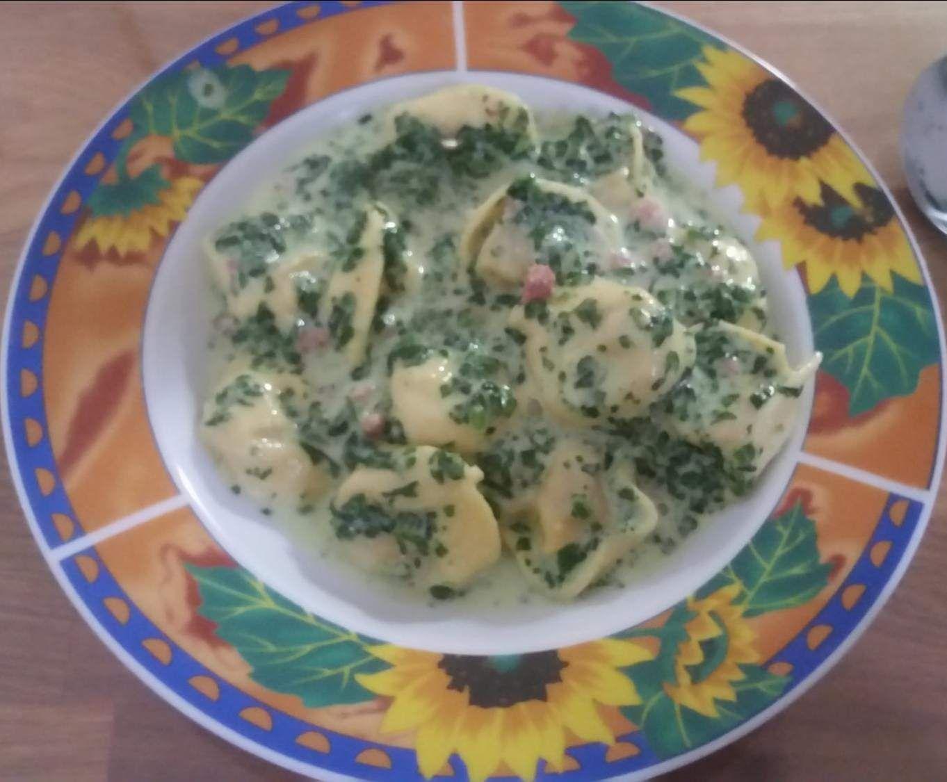 Tortellini - Spinat by Sabine