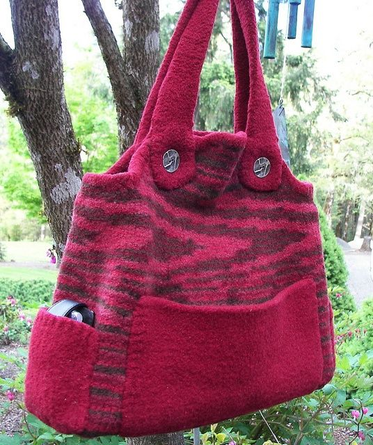 Image result for knitted bags free patterns | BAGS | Pinterest ...