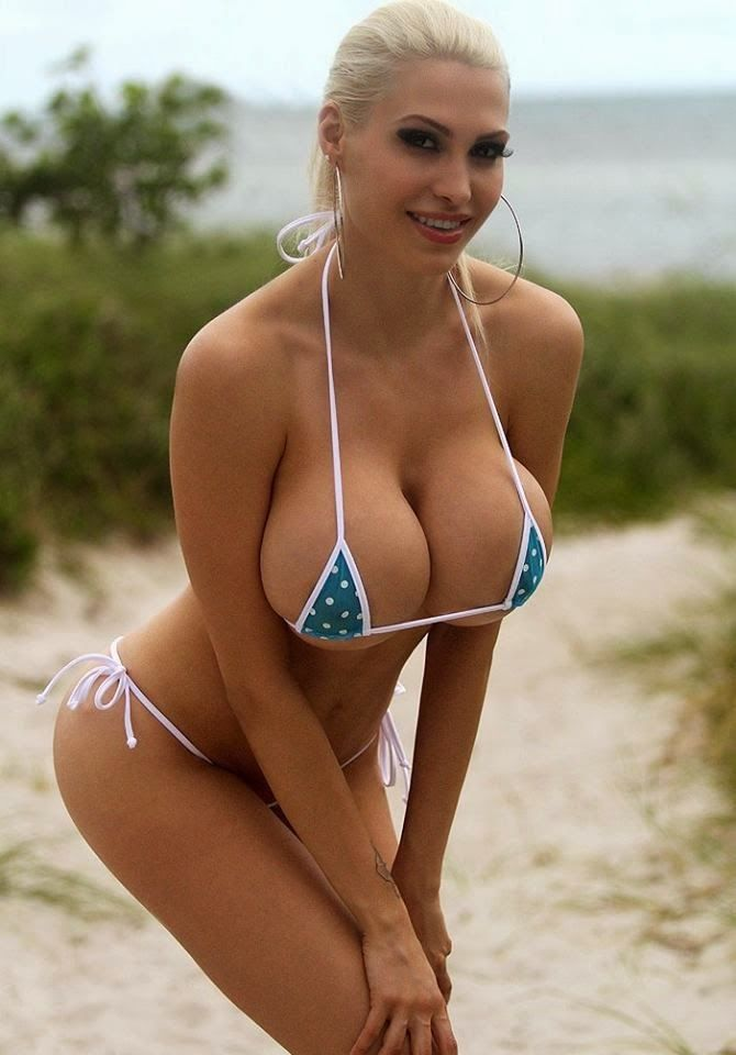 Sorry but hot blonde beach