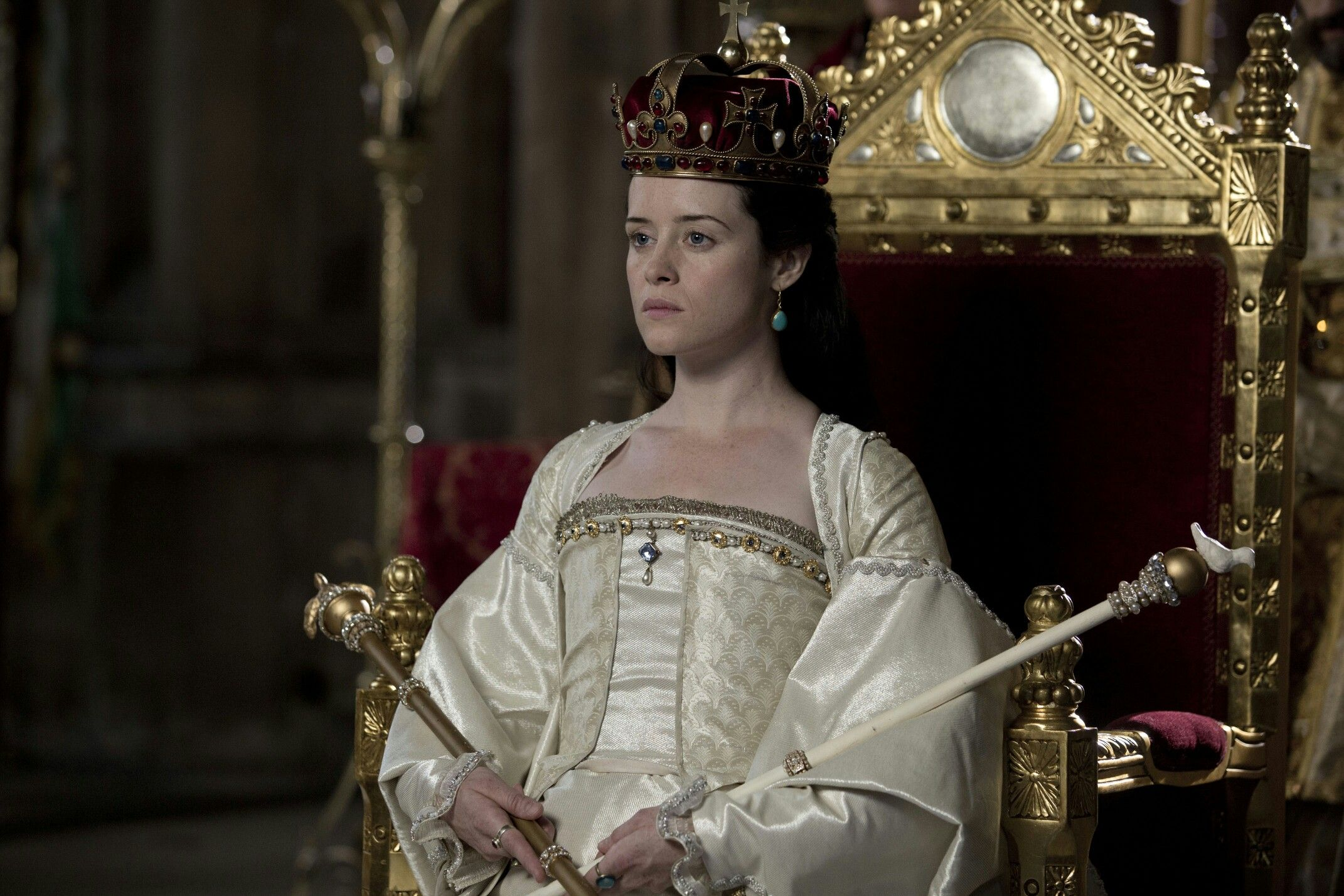 Queen Anne Bolelyn, from the BBC series Wolf Hall.