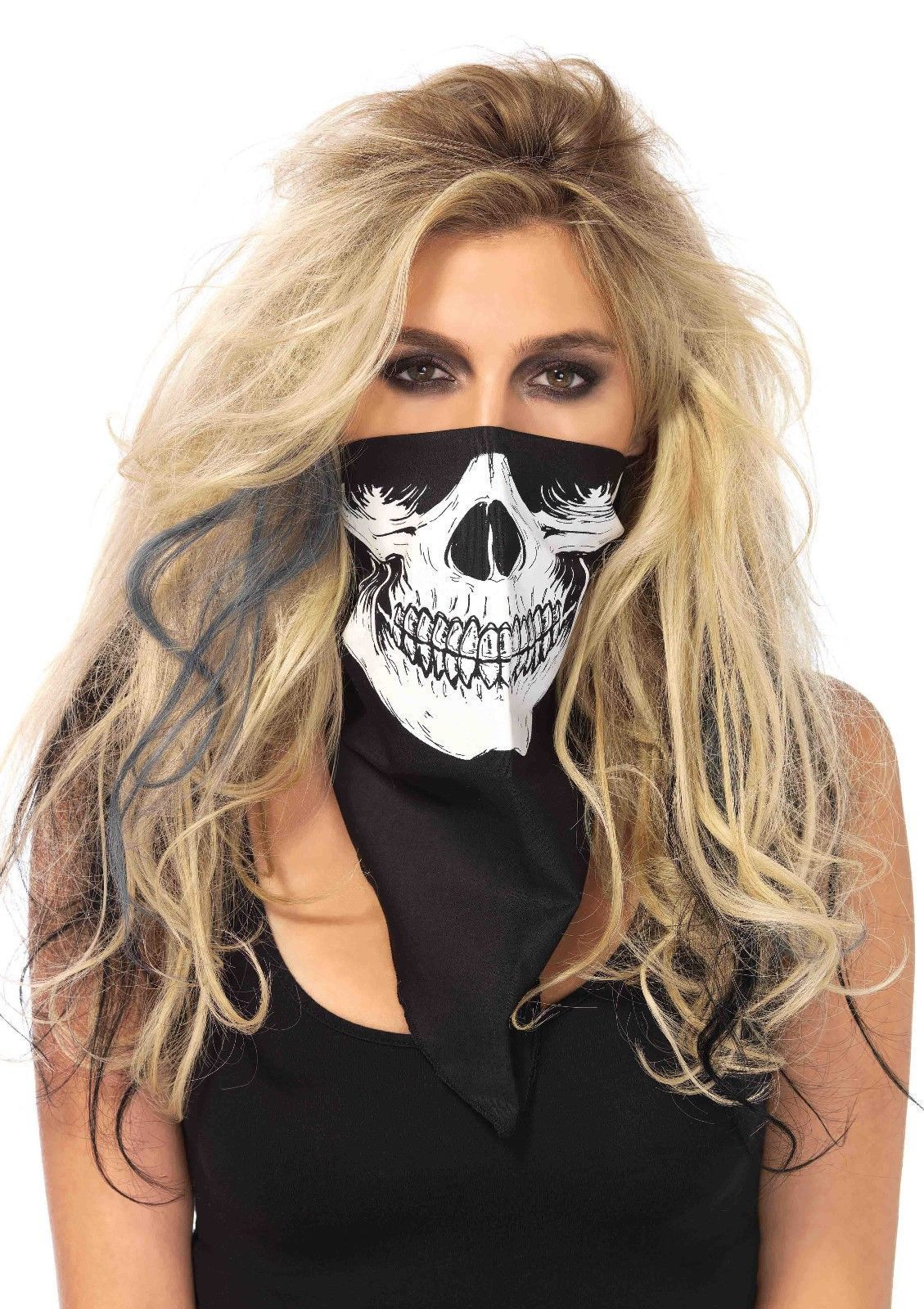Men's Masks 100% True Halloween Party Stretch Bone Skeleton Shape Masks Festival Fancy Dress Pirate Costume Accessories For Men Women Apparel Accessories