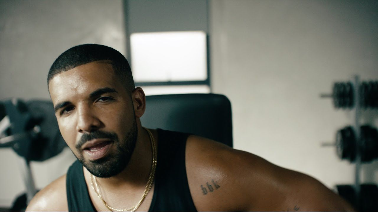 Apple Music – Drake vs. Bench Press: He fully committed. This was ...