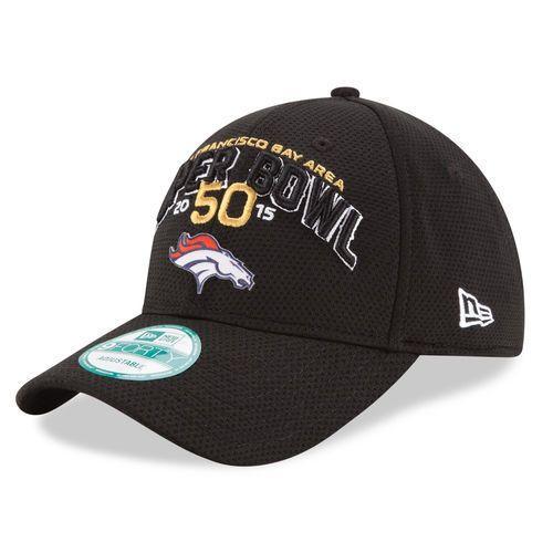 New Era Denver #Denver Black Super Bowl 50 Bound 9forty Adjustable Hat from $24.99
