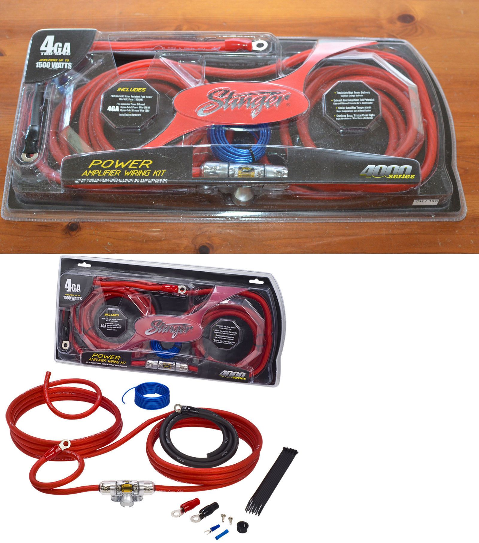 Tsunami Amp Kit Gauge Ga Car Amplifier Installation Wiring Wire Kitrca Walmart Kits New Stinger Power Series High Performance 1600x1813