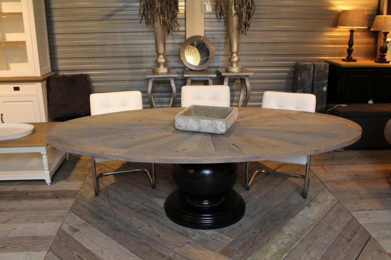 Tafel ovaal 255x135 2519 tafel eetkamer pinterest for Design tafel ovaal