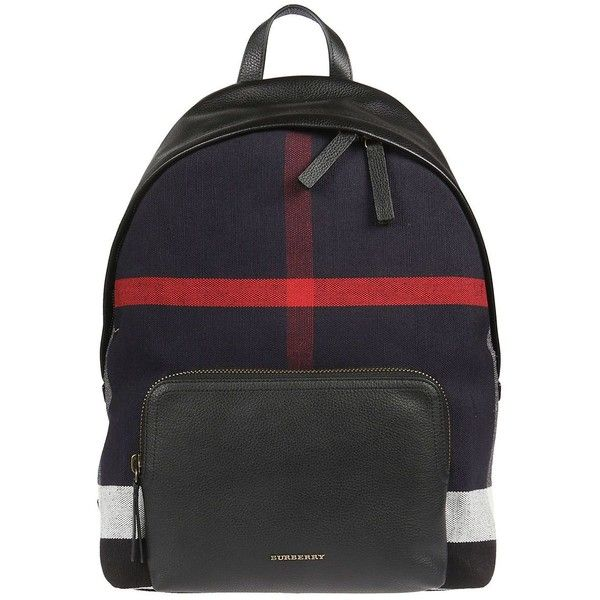 Abbeydale Backpack (10,190 MXN) ❤ liked on Polyvore featuring bags, backpacks, black, womenbags, zipper bag, burberry rucksack, burberry, day pack backpack and top handle bags