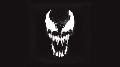 Venom Marvel Artistic Logo With Dark Background Workout Venom