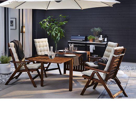 Mesa En De Ikea Y Grupo Ocrxedb Floor Sillas Una Applaro Terraza2nd CWdoBrxe