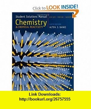 Student solutions manual for kotztreichelweavers chemistry and student solutions manual for kotztreichelweavers chemistry and chemical reactivity 6th fandeluxe Choice Image