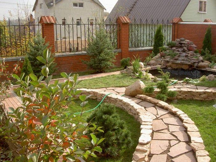 Картинки по запросу дизайн двора частного дома фото ...