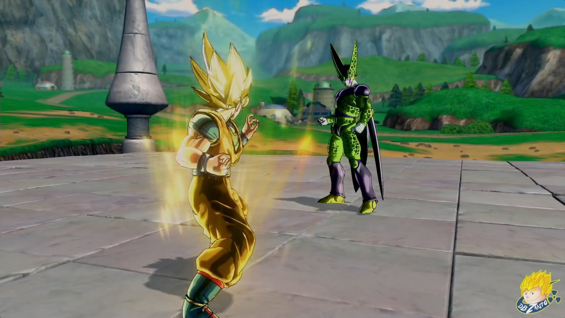 Dragon Ball Xenoverse Ps4 Ssj Goku Vs Perfect Cell Prologue