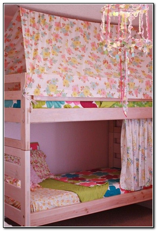 Ikea Bunk Bed With Canopy & Ikea Bunk Bed With Canopy | House-rachelu0027s room | Pinterest | Bunk ...