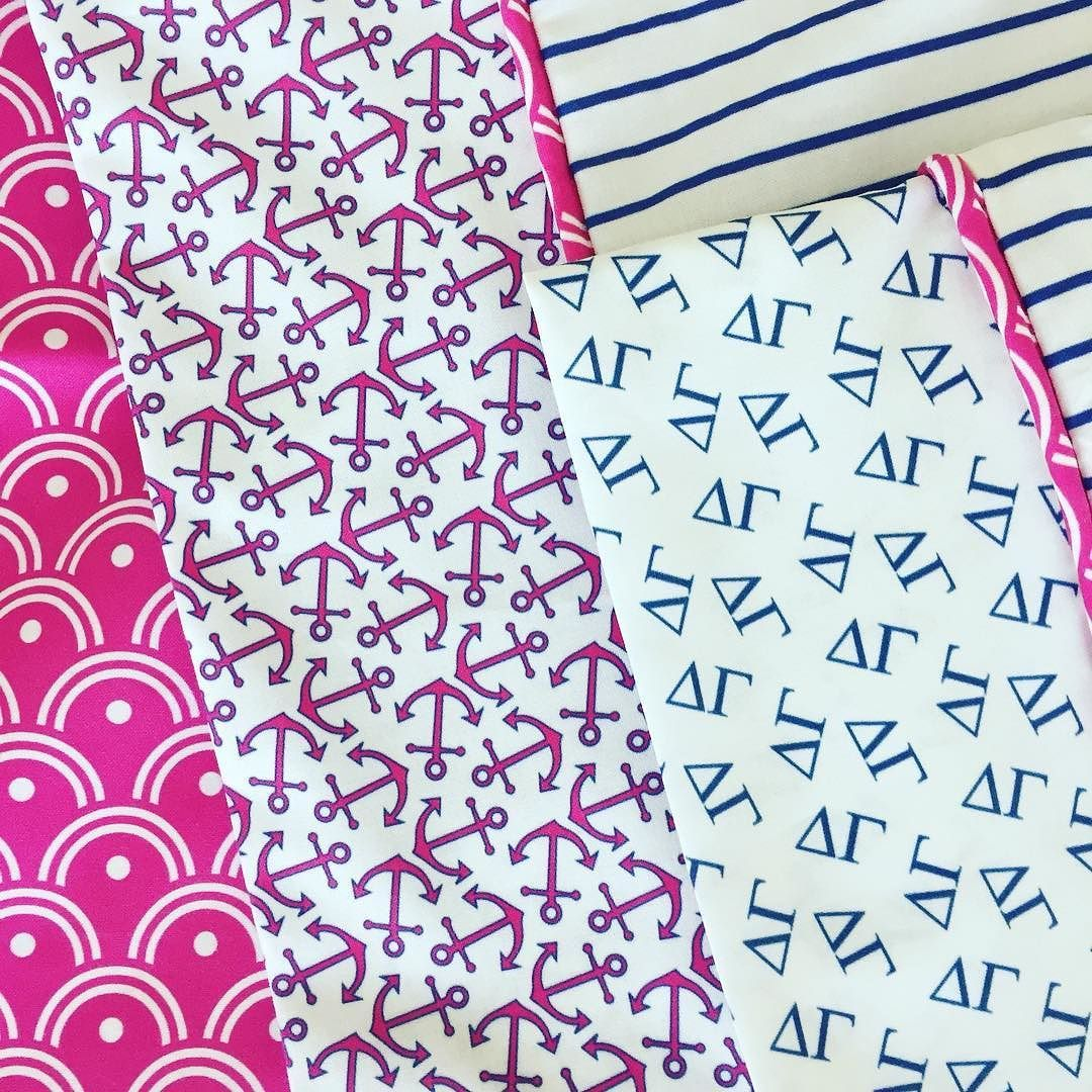 Fun pillow cases made for my favorite DG! #deltagamma #fabric #fabrics #sew #sewing #misschiffdesigns  #crafty #quilt #quilting #homedecor #interior #pattern #fabric #fabrics #diy #diyfashion #twitter #wrappingpaper #illustrator #decoration #fabricdesigner #mailartist #homedecor #repeatpattern #printdesign #surfacedesign  #spoonflower #interiordesign #maker  #spoonflowered