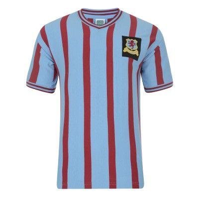 1a86d1922 Aston Villa 1957 FA Cup Final Shirt