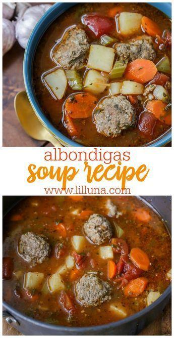 Photo of Albondigas Soup