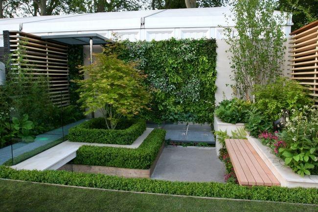 Aménagement de jardin contemporain- 105 idées modernes en ...
