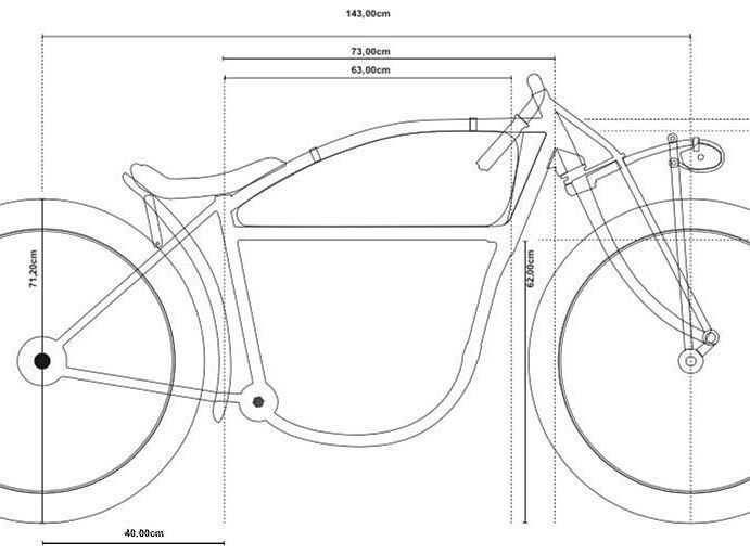 Board Track Racer Frame Plans