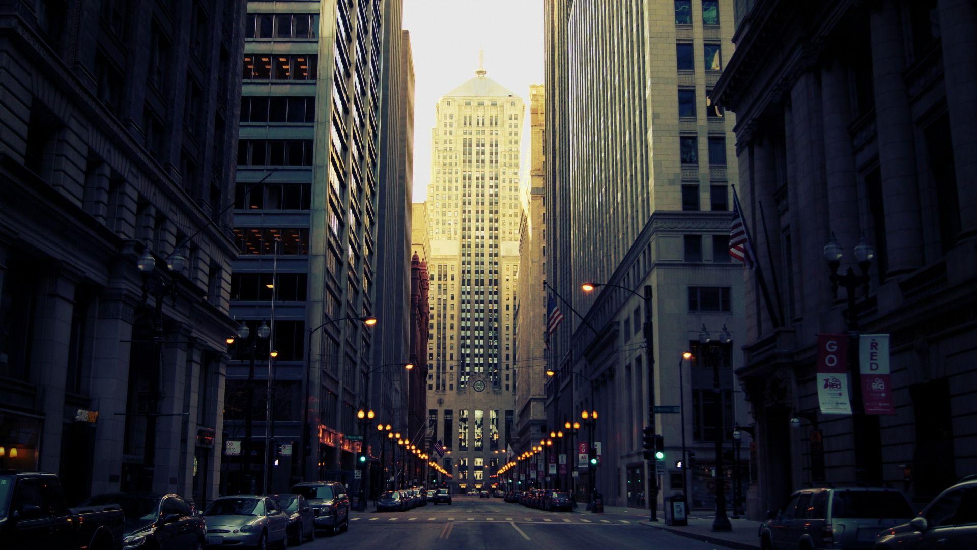 Обои америка, чикаго, высотки, небоскребы, chicago, сша, здания. Города foto 8