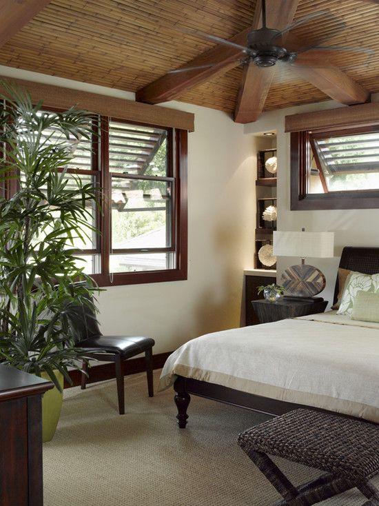 tropical bedroom window treatments design, pictures, remodel