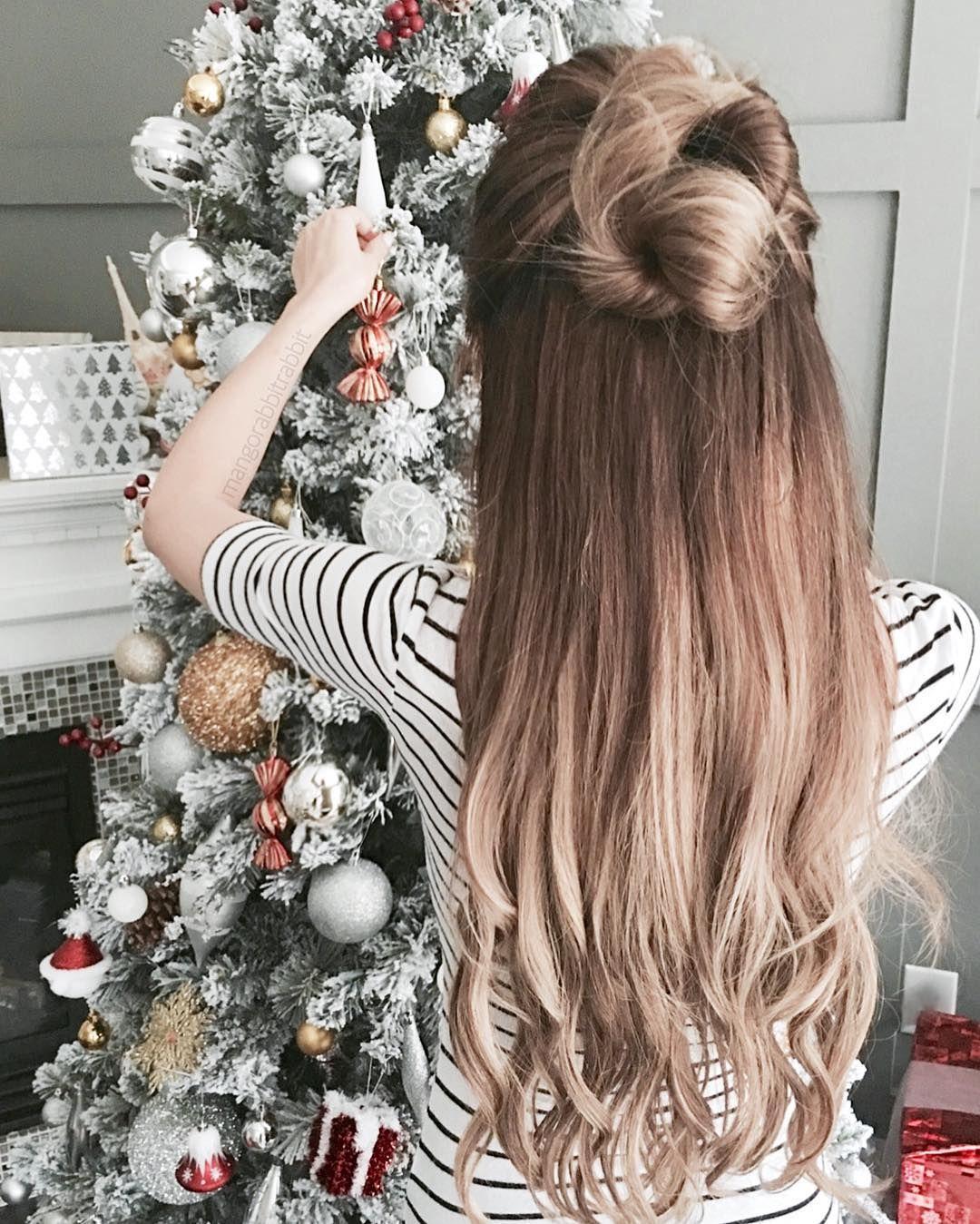 How To Dress Up Like A Boss On Christmas Eve Hair Styles Beautiful Hair Hair Inspiration