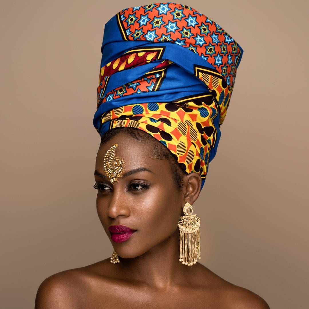 Stylish, Chic, and Classy Ankara Headwraps - Wedding Digest Naija #africanbeauty