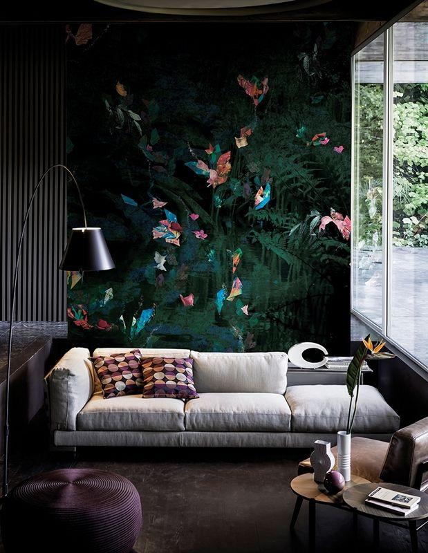 Wall U0026 Decò   Contemporary Wallpaper 2016 Rafale · SchlafzimmerWohnzimmer EsszimmerGestaltenArchitekturFarbenGrüne TapeteInnenarchitekturIdeen ...