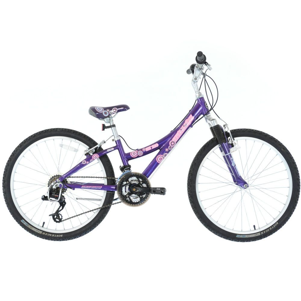2008 Trek Mt220 Girl S Youth Mtb Mountain Bike 24 Purple Sporting Goods Cycling Bicycles Ebay Mtb Bike Mountain Bike Mountain Biking