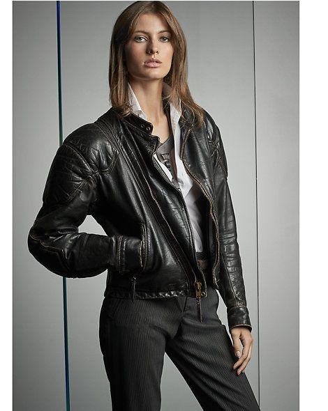 Ashford Leather Moto Jacket