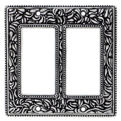 Vicenza Designs San Michele Wall Plate Finish: Antique Nickel