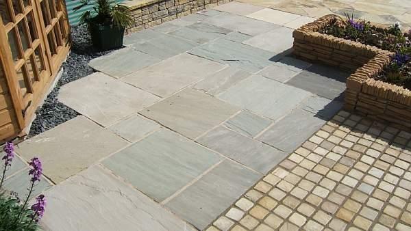 Simplypaving Com Gallery Bradstone Natural Slate Paving Blue Black Slate Paving Garden Outdoor Decor