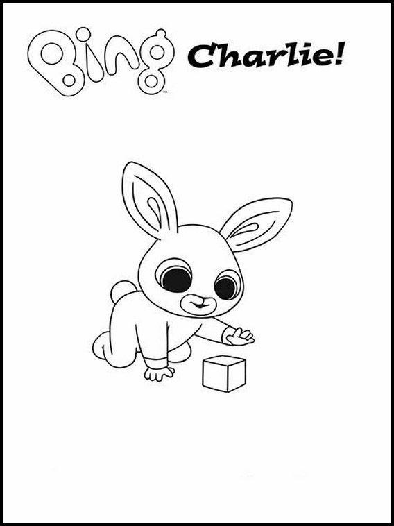 Bing Bunny Da Colorare 1 Disegni Da Colorare Disegni E Bambini