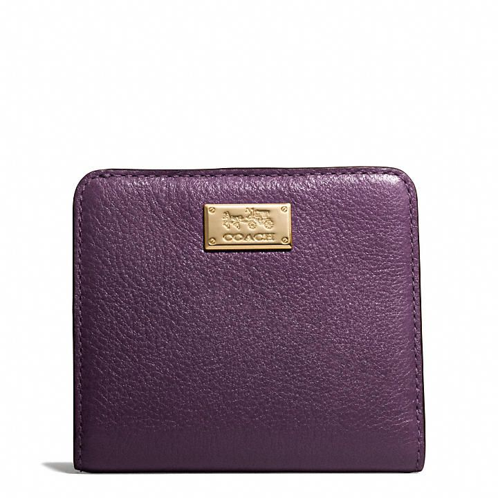 Coach  MADISON SMALL WALLET IN LEATHER
