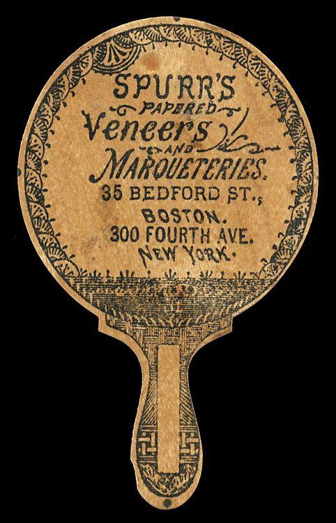 Spurr's Veneers and Marqueteries   Sheaff : ephemera