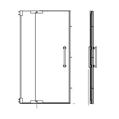 Extrusions and Hardware for Bath and Shower Doors  sc 1 st  Pinterest & Extrusions and Hardware for Bath and Shower Doors   Bathroom Reno ... pezcame.com