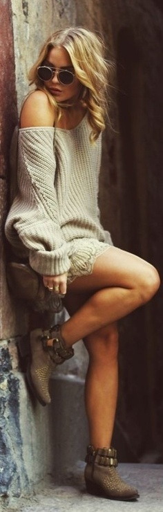 sweater dress | Street Smart | Kleidung, Mode und Stil