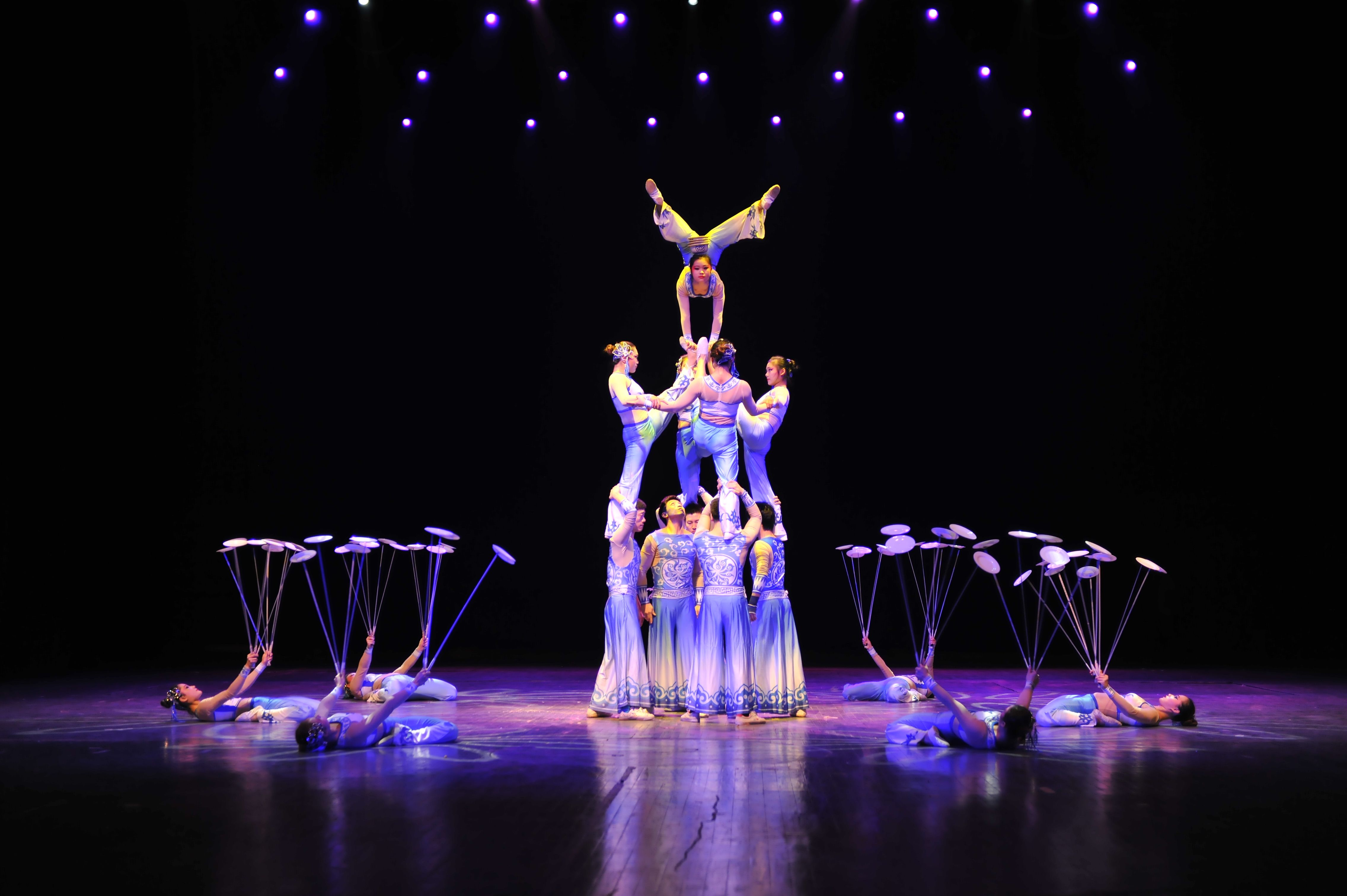 NATIONAL ACROBATS OF THE PEOPLE'S REPUBLIC OF CHINA, Thursday, November 6, 7:30 PM, Fine Arts Center Concert Hall