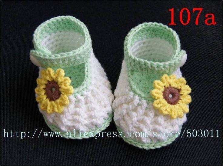 Crochet Baby Booties Online Crochet Patterns | Baby Crochet Knit ...