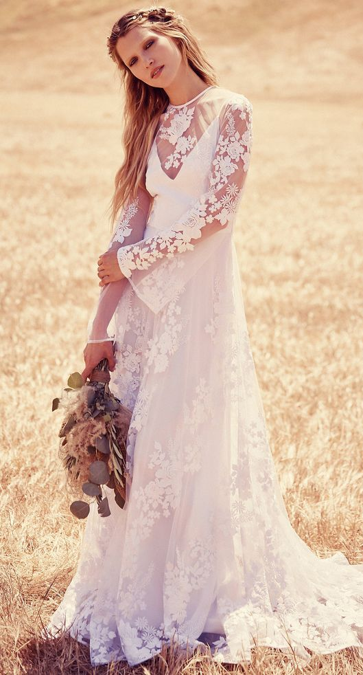 fpeverafter bridal collection from free people | vestidos novia