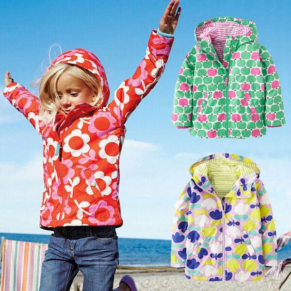 0d26928c6e0d Click to Buy    Outdoor Autumn Spring Girls Outerwear Cute Print ...