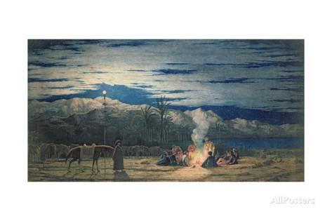 Artist S Halt In The Desert By