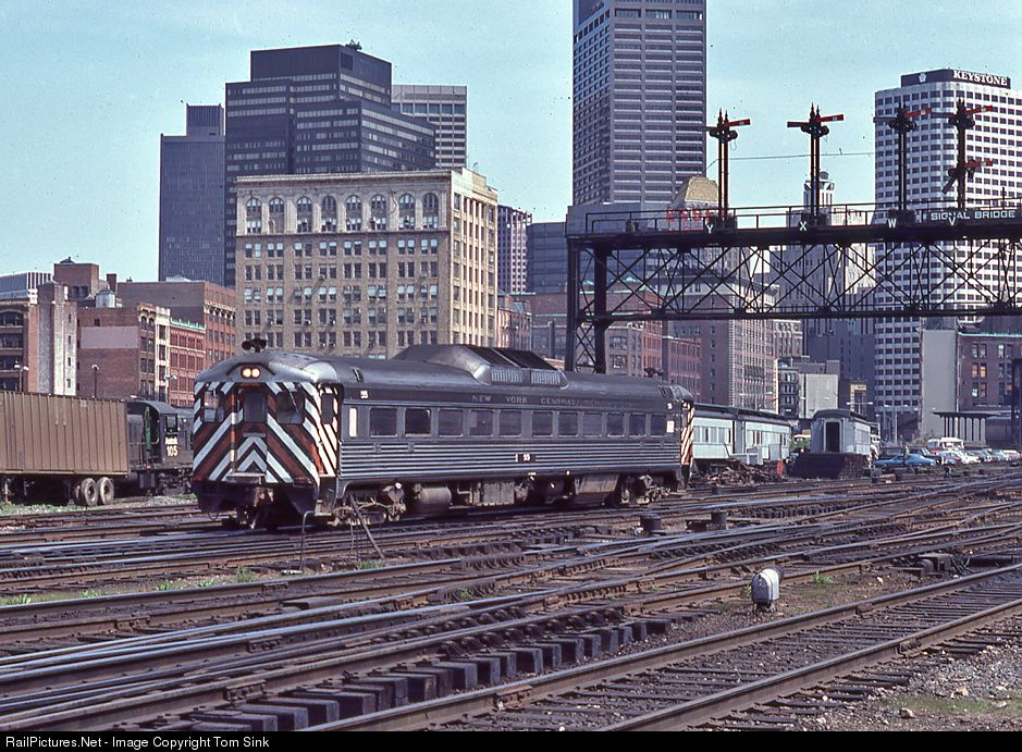Railpictures Net Photo New York Central Budd Rdc At Boston Massachusetts By Tom Sink New York Central Railroad New York Central New York