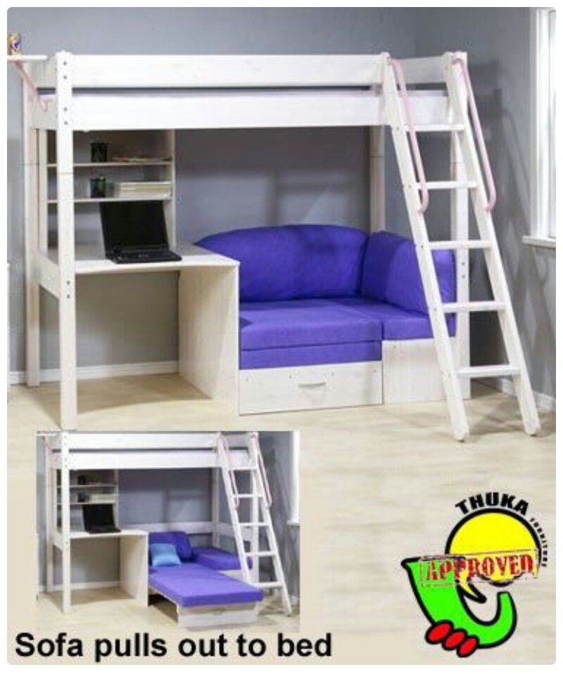 Design Loft Bed With Couch Bunk Beds Futon Bunk Bed