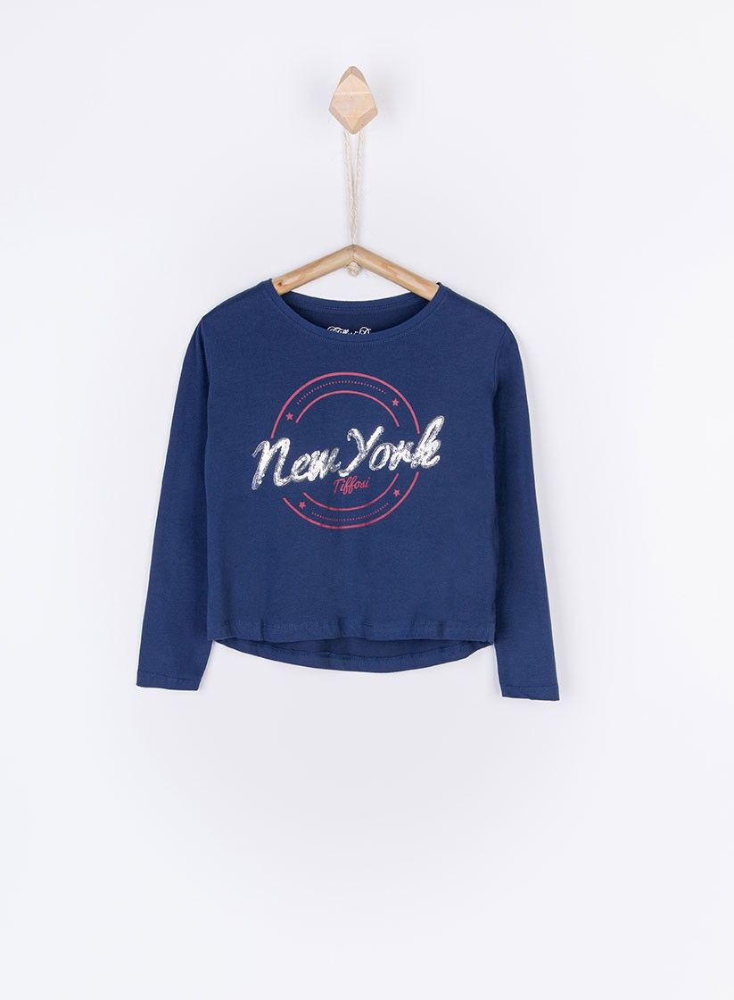31d2faebe Camiseta Tessy azul marino para niña de Tiffosi | OUTLET MODA INFANTIL |  Sweatshirts, Graphic sweatshirt y Jumpers