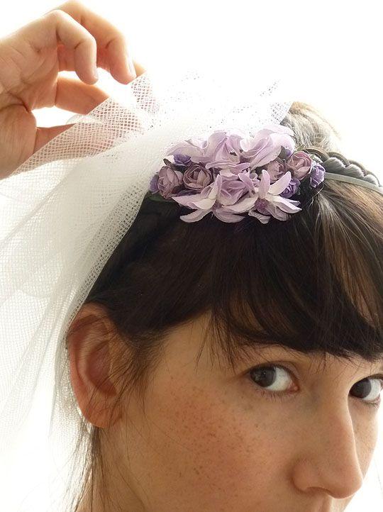 "Flower Crown ""Améthyste"""