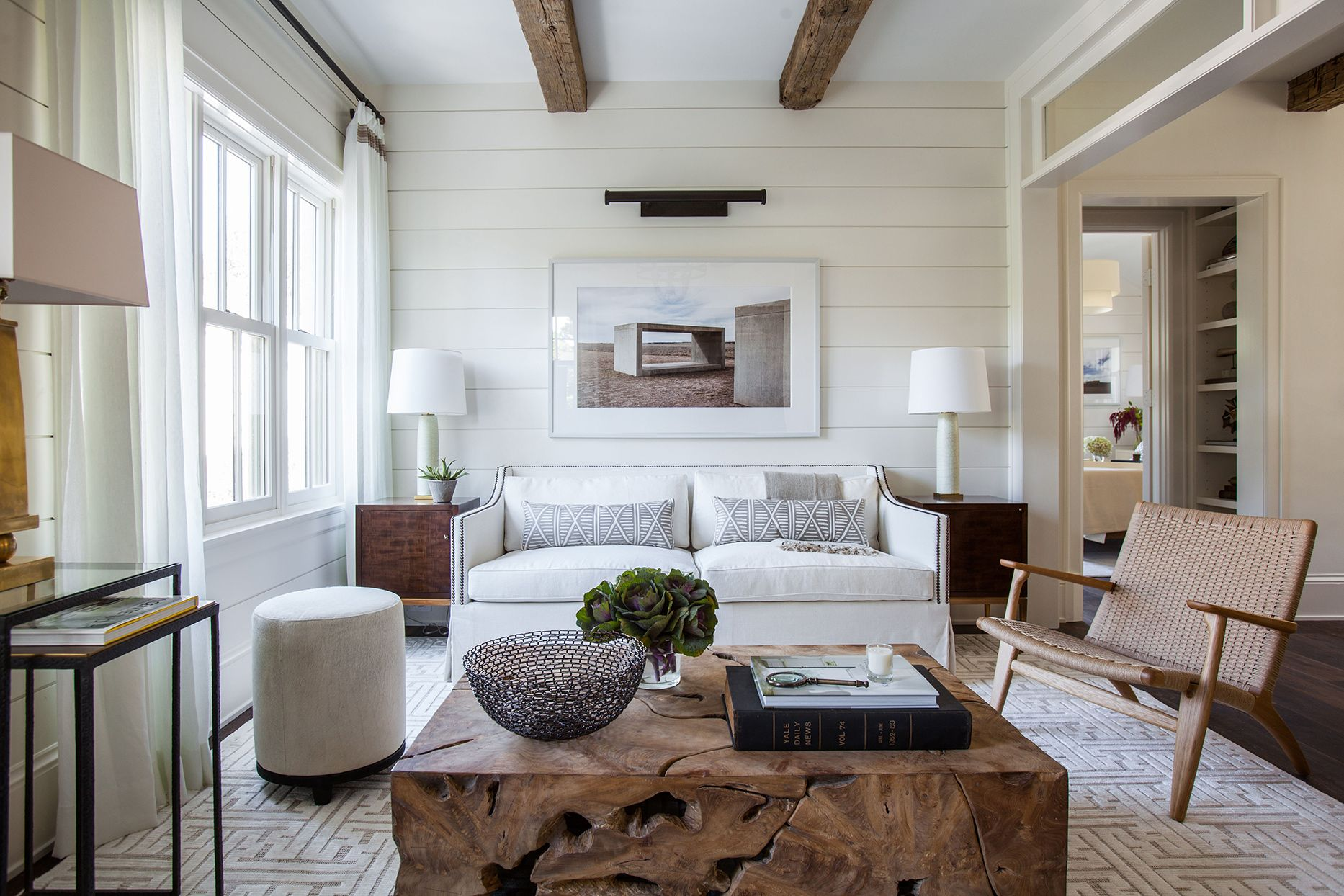 Marie Flannigan Cloud White 15 Soothing Paint Colors To Try Now According To Designers Better Homes Gardens #soothing #living #room #colors
