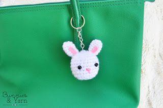 Rabbit Keychain | Free Amigurumi Patterns | Bloglovin'