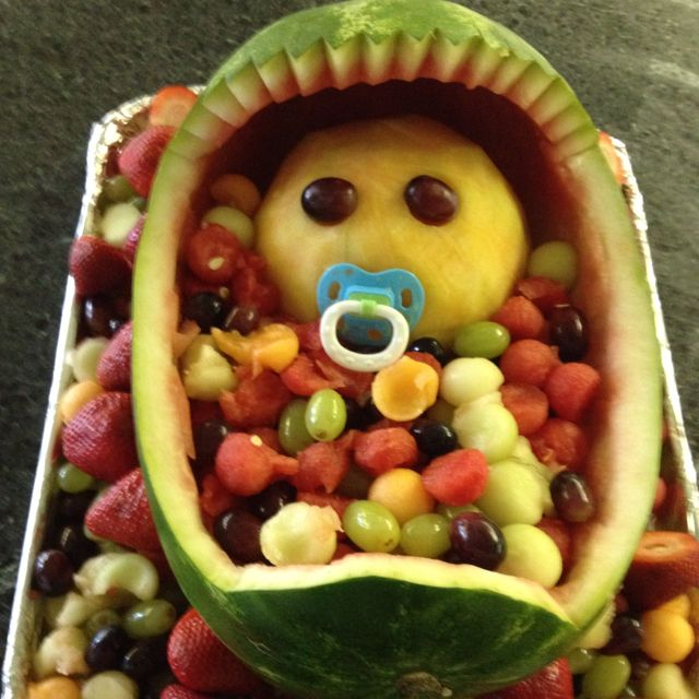 baby shower fruit fruit plate watermelon foods plates forward baby