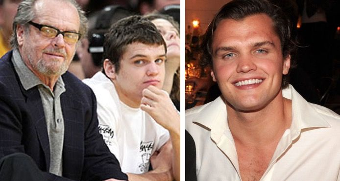 Ray Nicholson Is The Spitting Image Of Fatherm Jack Nicholson Ray Is Jack S Son From Him Marriage To Rebecca Celebrity Kids Jack Nicholson Rebecca Broussard Bathed in perpetual darkness, the world of hanger is no place for if ryan nicholson had any sense, he would have made trashy the star of the film, as anyone with a. jack nicholson