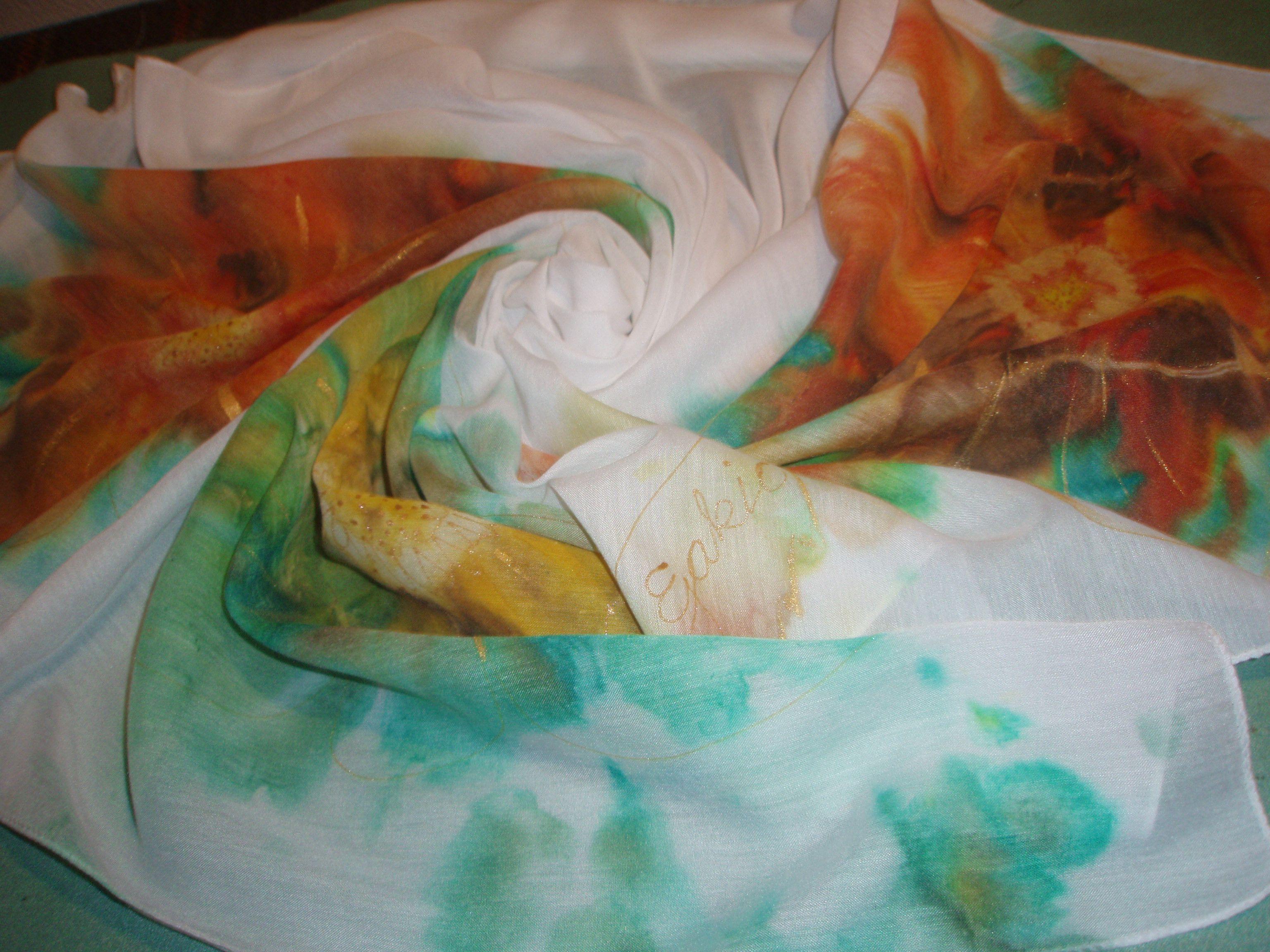 Ručno oslikana marama