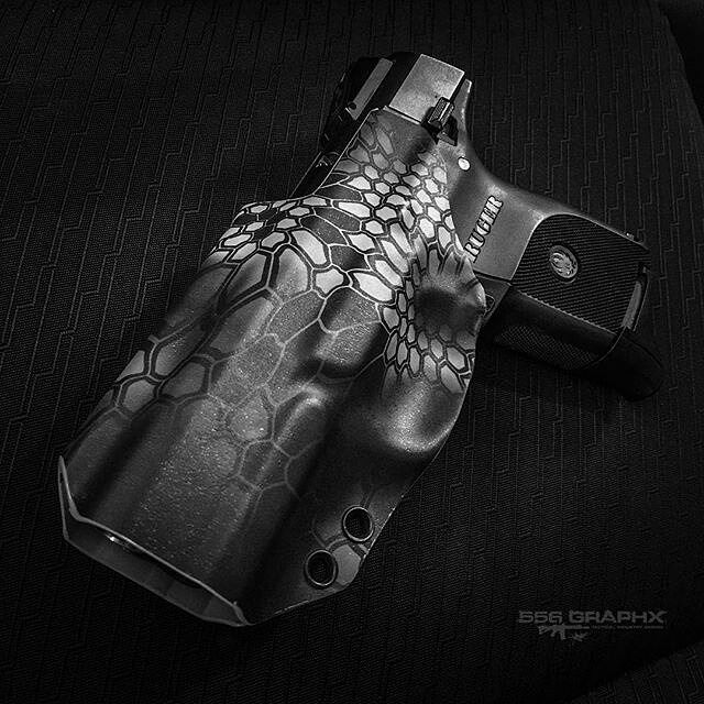 Bad ass shot from @556graphx from @556graphx Ruger SR9c in an